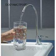 Фильтрация водопроводной воды. фото
