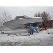 Очистка катеров и лодок фото