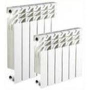 Радиатор Алюминиевый Vektor Lux 500/80 1 секция фото