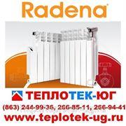 Радиаторы отопления алюминиевые, биметаллические Radena/ Радена (Италия) фото