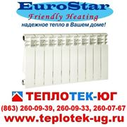 Радиаторы отопления алюминиевые EuroStar(Евростар) фото