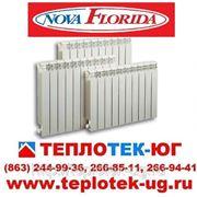 Радиаторы отопления алюминиевые, биметаллические Nova Florida/ Нова Флорида (Италия) фото