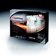 Радиатор алюминивый AQUAPROM 350 фото