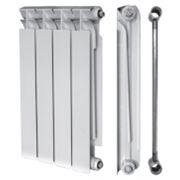 Радиатор tenrad биметаллический 350/80 10-секций фото