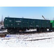 Окраска грузовых вагонов. фото