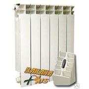 Алюминиевый радиатор отопления Sahara Plus 500 (8 секций) фото