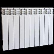 Алюминиевый радиатор отопления ТеплоВек 500 (10 секции) фото