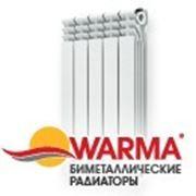 Радиаторы отопления Warma биметал фото