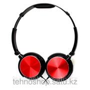 Полноразмерные наушники SmartBuy® REC, черно-красные SBE-9010/20 фото