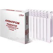 Радиатор алюминиевый литой AQUAPROM 350/80 фото