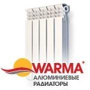 Радиаторы отопления Warma алюминий фото