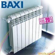 Алюминиевые радиатор Baxi Condal фото