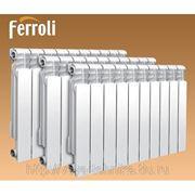 Алюминиевый радиатор Ferroli POL фото
