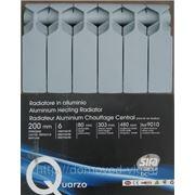 Радиаторы отопления алюминиевые Sira Quarzo 80*200 фото
