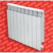 Радиатор алюминиевый tenrad 350/100 10-секций фото