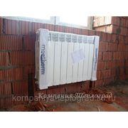 Алюминевые радиаторы Mechterm 350-100 Италия фото