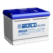 Аккумулятор MUTLU МСТ 66 а/ч (пр.пол.)(синяя) фото