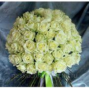 """Букет из 101 белой розы """"Прости меня, любимая моя, прости, моя хорошая..."""" фото"""