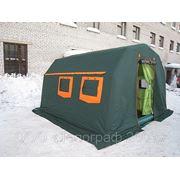 Пневмокаркасная палатка фото