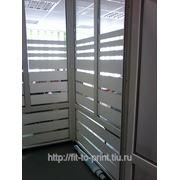 Оклейка окон, стеклянных дверей и стен в офисах фото