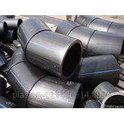 Отвод ПЭ 80 сегментный 45гр SDR9, 11, 13,6, 17, 21, 26, 33 фото