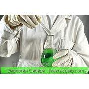 Анализ воды химический. фото