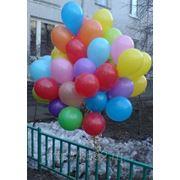 Букет из 50-ти воздушных шаров - ассорти фото