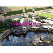 Ландшафтные работы,отделка натуральным камнем www.masterland34.ru фото