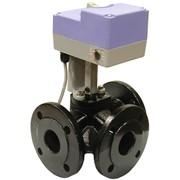 Клапан шаровой смесительный c электроприводом GRV