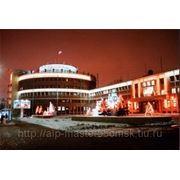 Подсветка фасадов зданий фото