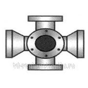 Крест фланец-раструб с пожарной подставкой ППКРФ300х300 с ЦПП фото