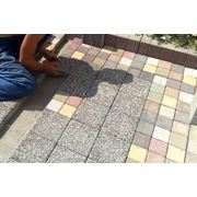 Укладка брусчакти, тротуарной плитки фото