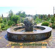 Садово-парковые фонтаны фото