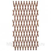 Решетка складная 1.8х0.9 коричневая, дерево фото