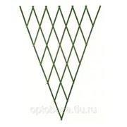 Решетка складная 1.8х0.9 зеленая, дерево фигурн фото