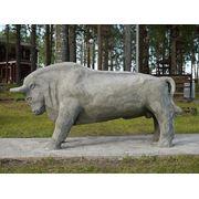 Садовая скульптура Буйвол фото