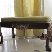 Банкетка деревянная фото