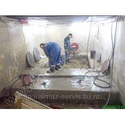 Алмазная резка бетона без пыли фото