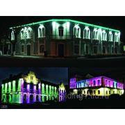Архитектурная подсветка зданий и сооружений фото