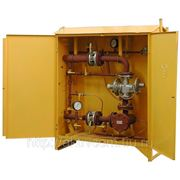 Газорегуляторный пункт шкафной ГРПШ с регулятором РДСК фото