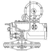 Регулятор давления газовый РДГ-50 Н/В (двухседельный, стальной корпус) фото