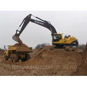 Определение и контроль объемов земляных работ, объема насыпных материалов фото