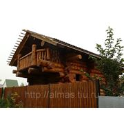 Отделка деревянного дома фото