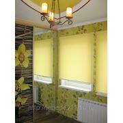 Дизайнерское оформление окон- жалюзи, рулонные шторы, роллеты фото