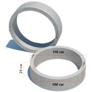 Канализационные кольца КЦП 10.3 фото