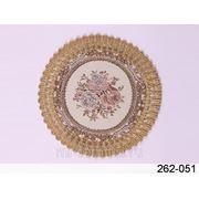 Салфетка декоративная диаметр=16 см. (614347) фото