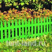 "Забор ""Частокол"" зеленый фото"