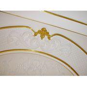 Золочение сусальным золотом, серебром и поталью элементов интерьера, декоров из полиуретана и гипса фото