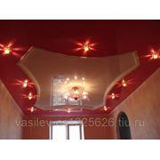 Натяжной потолок в офисе фото