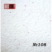 Модные обои № 108-белый с розовыми крапинками со слюдой фото